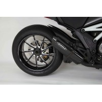 Now available - Hindle Exhaust slip-on for the Ducati Diavel