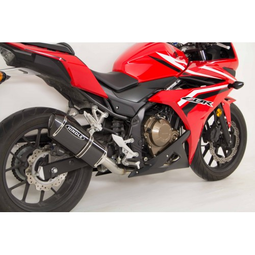 hindle performance 2016 2017 honda cbr500r slip on. Black Bedroom Furniture Sets. Home Design Ideas