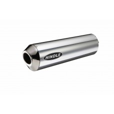 Under Seat Oval Stainless Mufflers