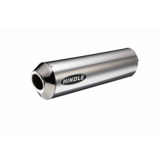 Under Seat Oval Titanium Mufflers
