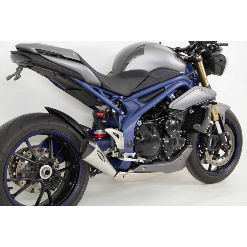 Hindle Performance Triumph Speed Triple 1050 Evo Megaphone Slip On