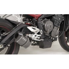 2017-2019 TRIUMPH STREET TRIPLE 765 Stainless Steel Front Section