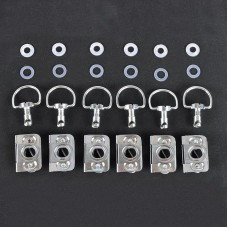 Dzus Bodywork Fastener Kit - Clip Style (Package of 6)
