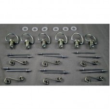 Dzus Bodywork Fastener Kit - Rivet Style (Package of 6)