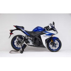 2015-2018 YAMAHA YZF-R3 Stainless Front Section