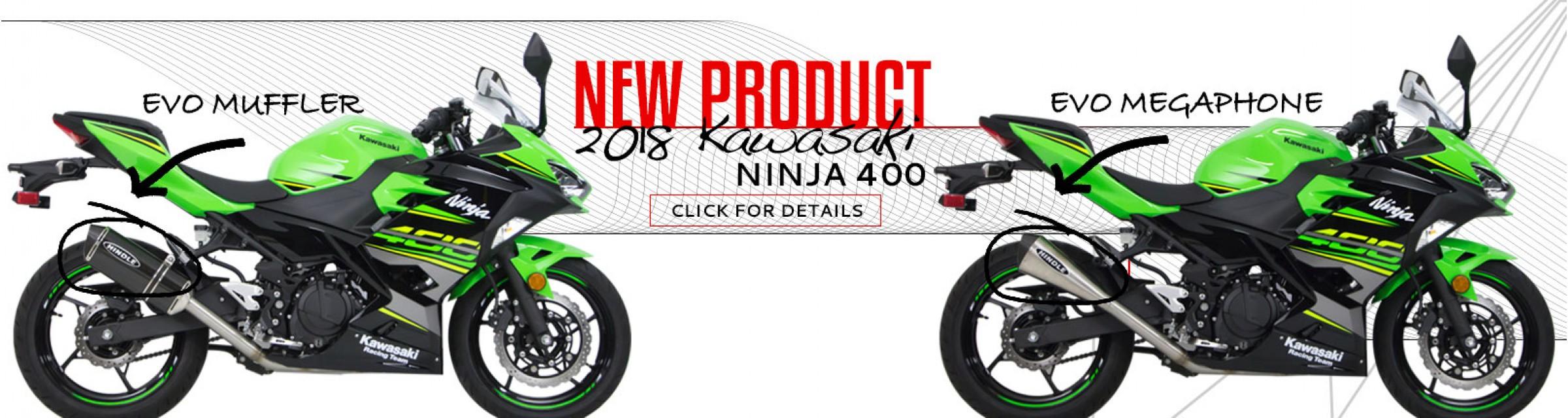 2018 Ninja 400