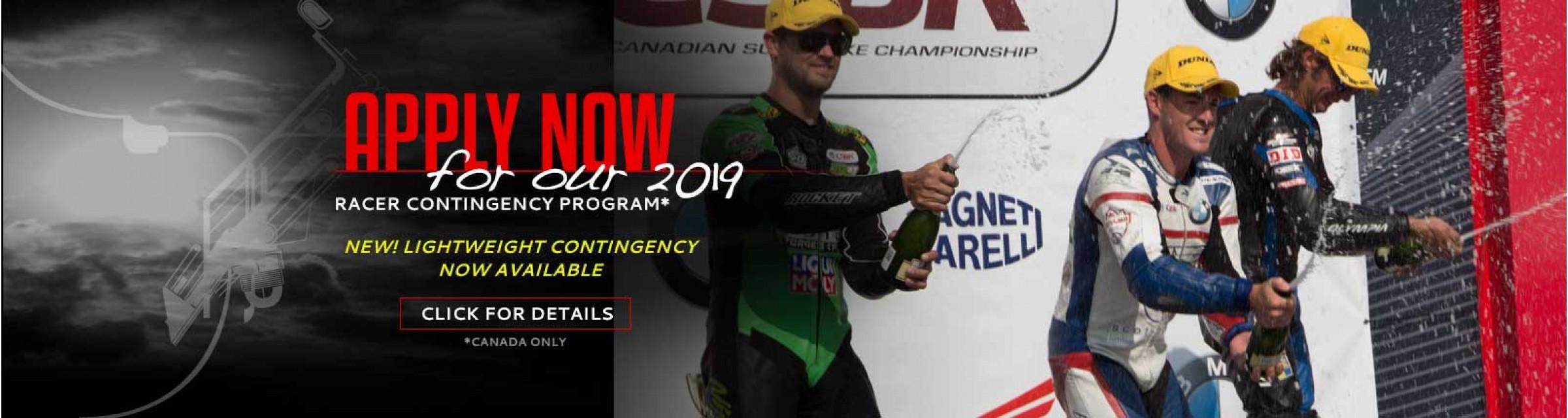 2019 Racer Program