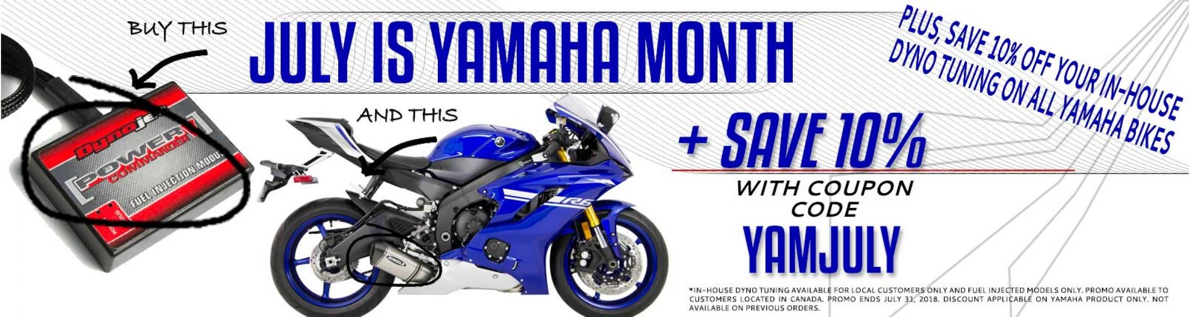 Yamaha July 2018 Promo