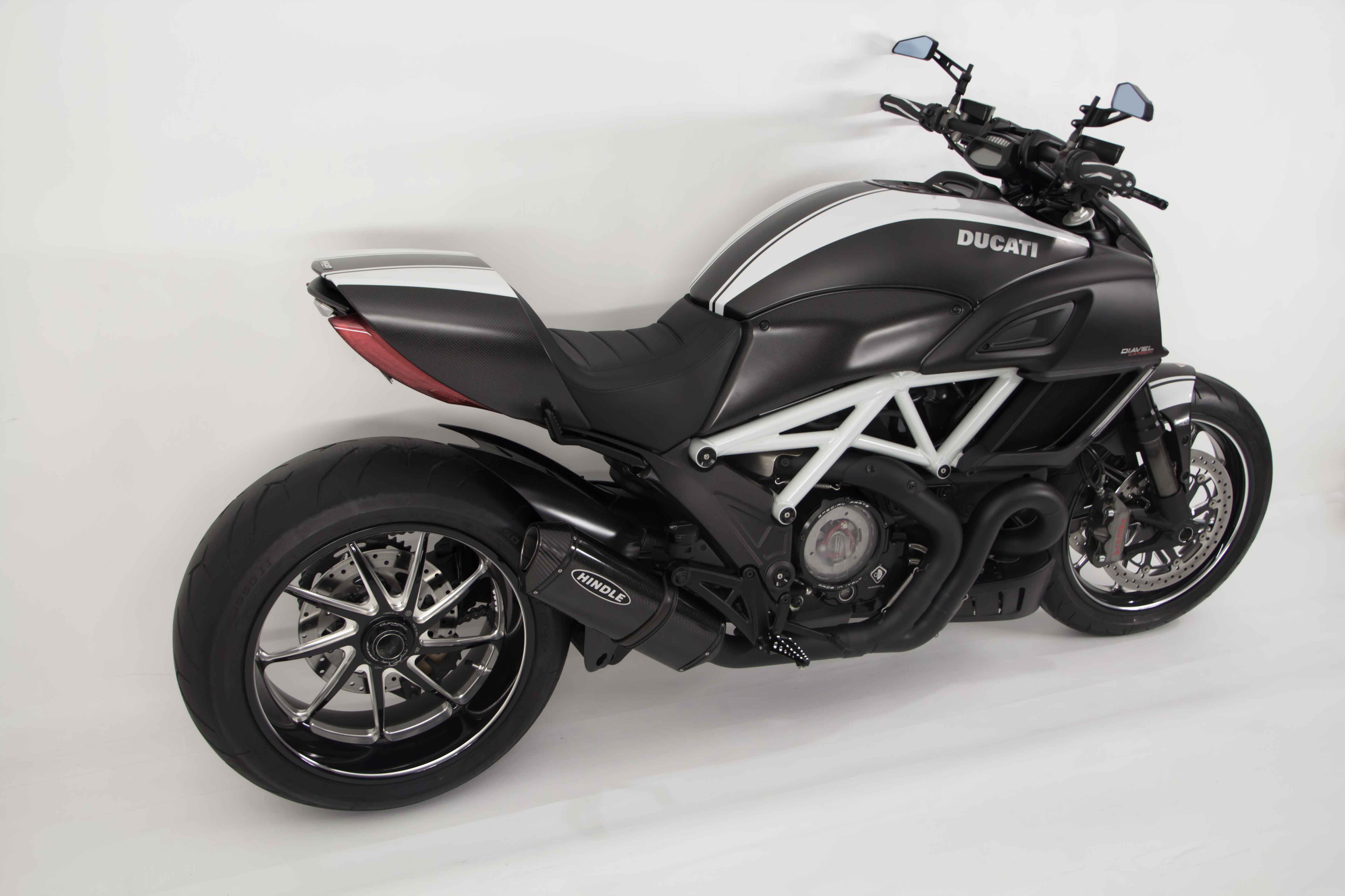 For More Info And To Purchase The Ducati Diavel Hindle Exhaust Slip On Adapter Muffler Check It Out Here
