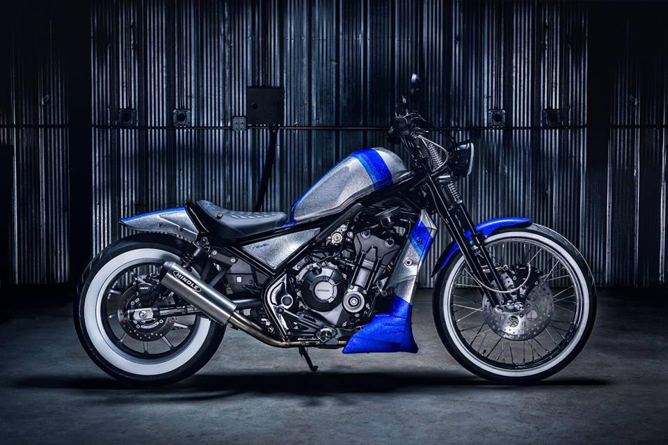hindleoriginor cycleshonda canada custom rebel  project